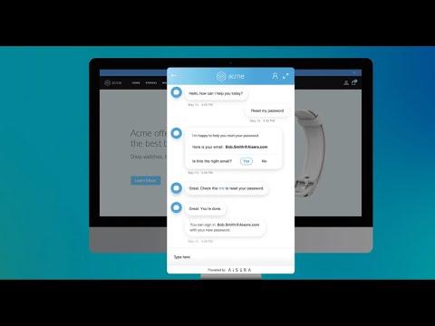 AISERA AI Customer Service Video