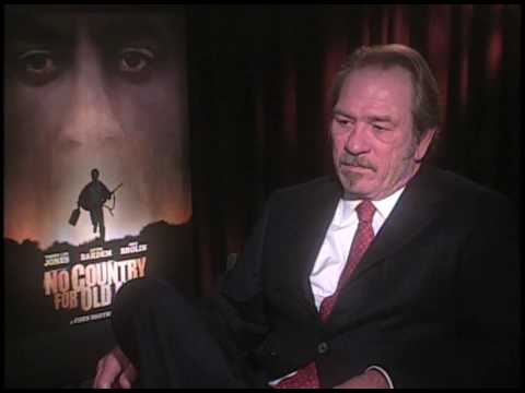 Interview with Tommy Lee Jones - No Country For Old Men