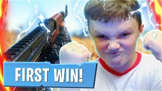 Reacting To Our FIRST DUOS WIN With My Little Brother! (PUBG Mobile Victory With My Little Brother)