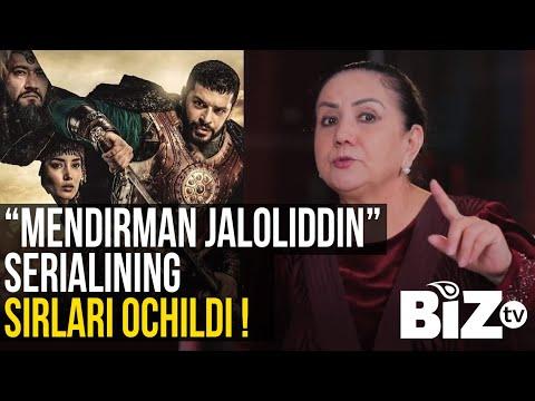 """Saida Rametova """"Mendirman Jaloliddin"""" Serialining Sirlarini Ochdi"""