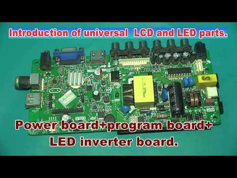 China universal lcd/led tv board #Part-2 - YouTube