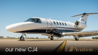 e aviation arrival of new cj4 d cefe