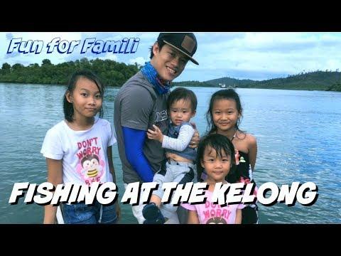 Children Fishing at Kelong l Batam l Indonesia  *Fun for Famili*