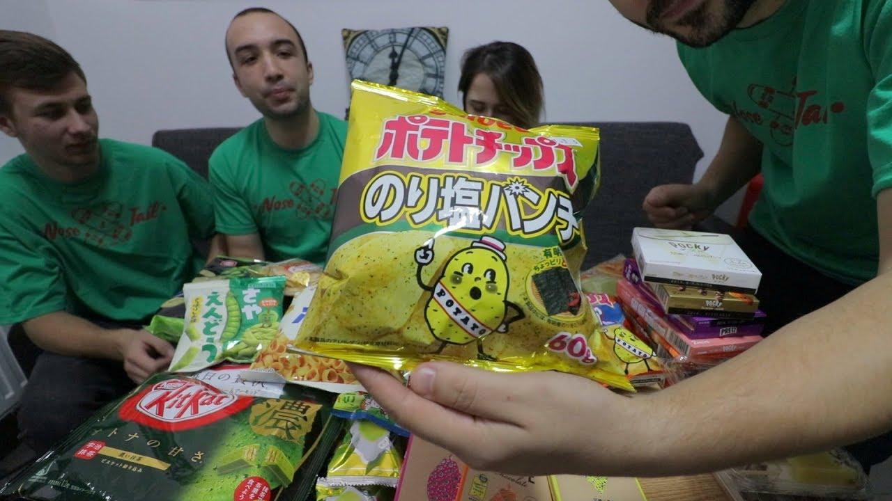 Gustam dulciuri din JAPONIA!