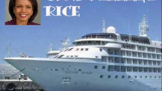 Condoleezza Rice Mikhail Gorbachev Black Sea Cruise 2010 Promotional