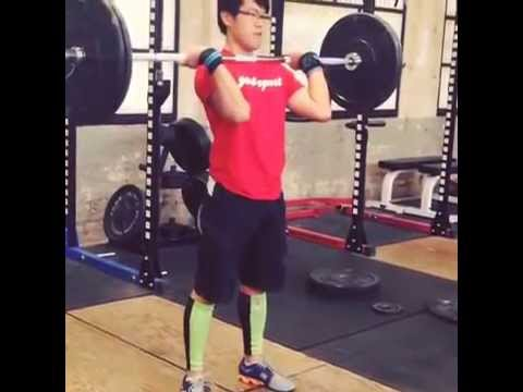 Olympic Weightlifting - Clean & Jerk practice