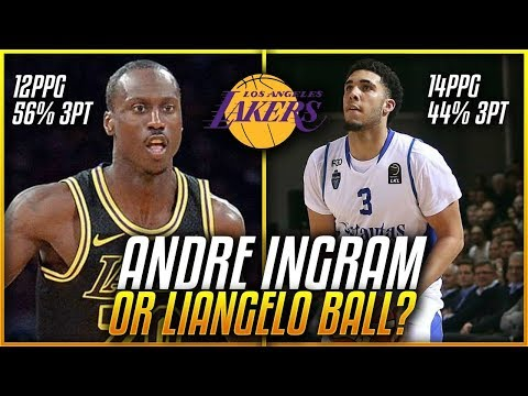 Will LiAngelo Ball STEAL Andre Ingrams Spot On The LAKERS Next Season!