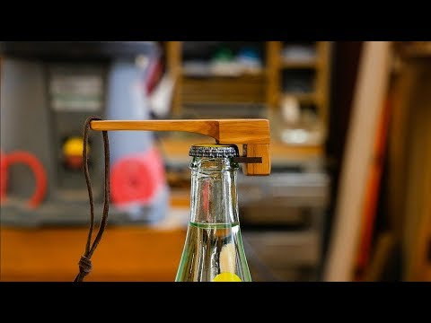 Making A Bottle Opener From An Old Cedar Fence Post