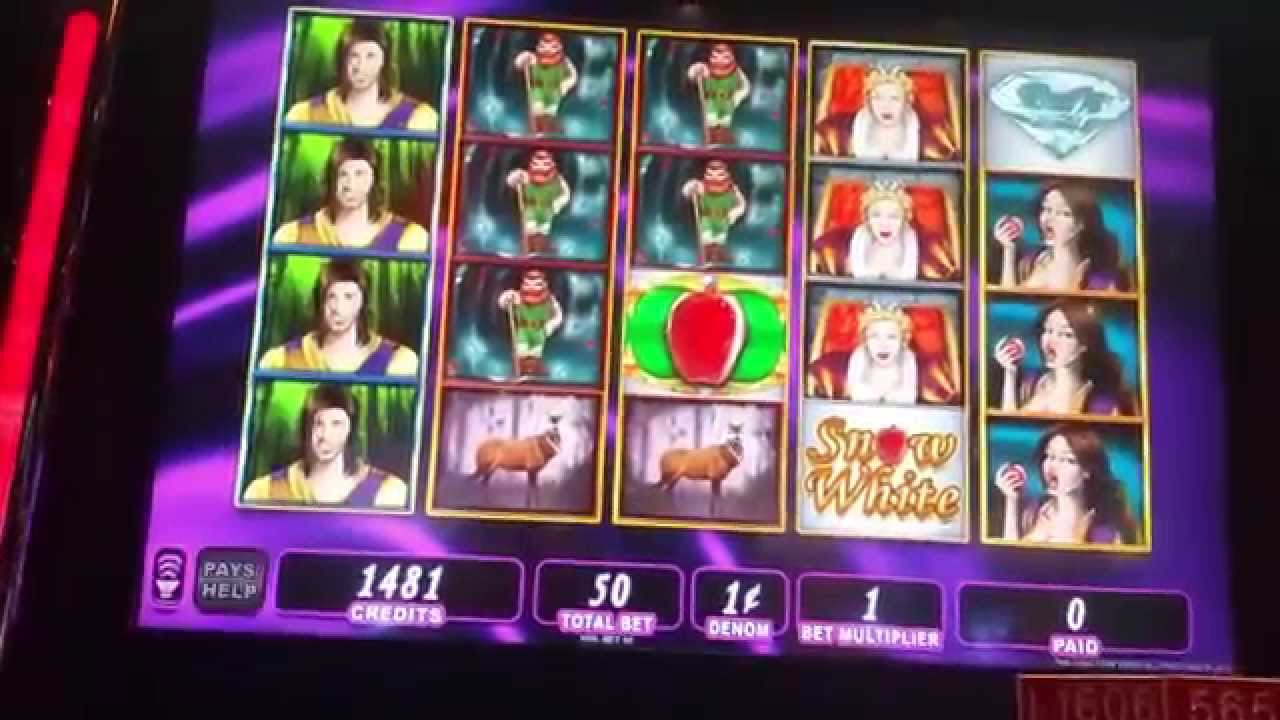 snow white slot machine