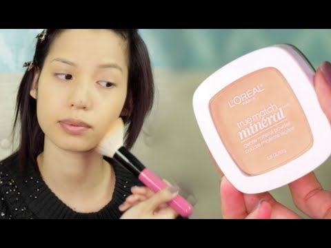 New L'Oreal True Match Mineral Powder Review & Demo