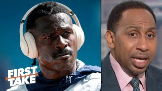 Stephen A. reacts to Antonio Brown's disturbing Instagram video | First Take
