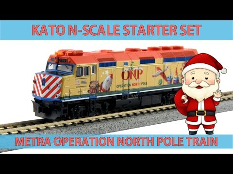 KATO's Operation North Pole Train Set