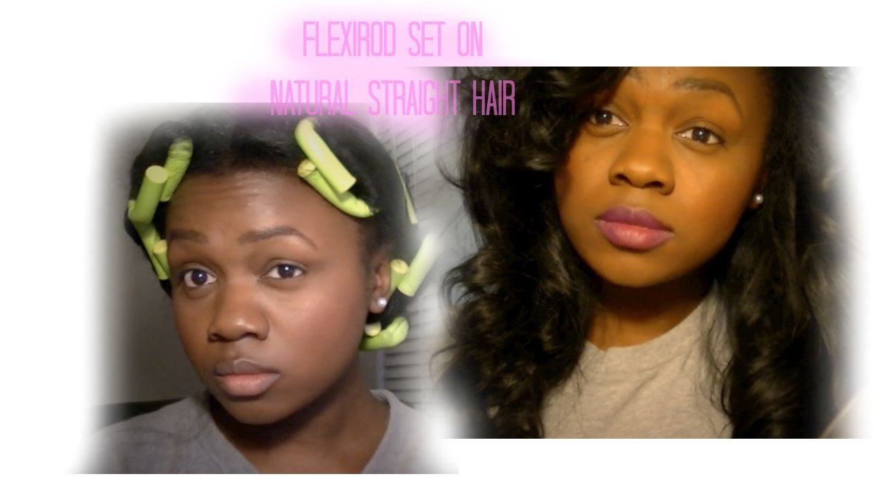 flexi rod straightened natural