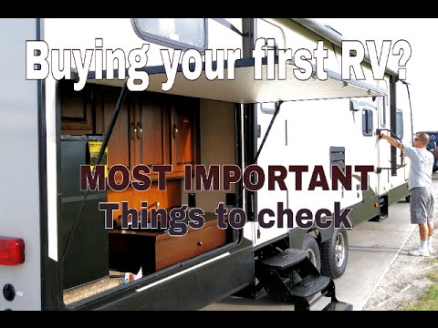 Buying a new RV? Watch this first!