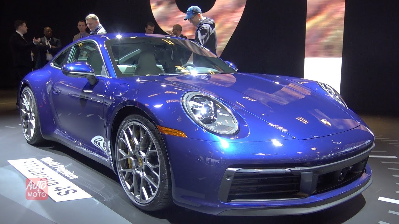 2020 Porsche 911 Carrera 4s Exterior And Interior Walkaround