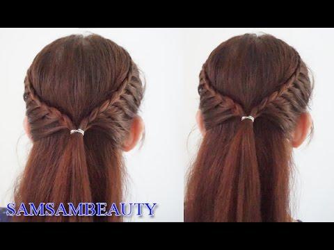 ทรงผมไปโรงเรียน ทรงผมเปีย Back To School Hairstyles -  SAMSAM BEAUTY