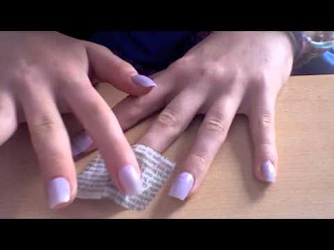 Fonkelnieuw kranten nagels - YouTube LK-32