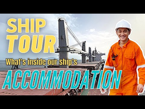 SHIP TOUR: SHIP'S ACCOMMODATION | Seaman Vlog