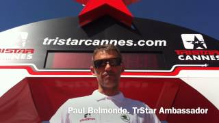 Paul Belmondo speaks TriStar Cannes!!!