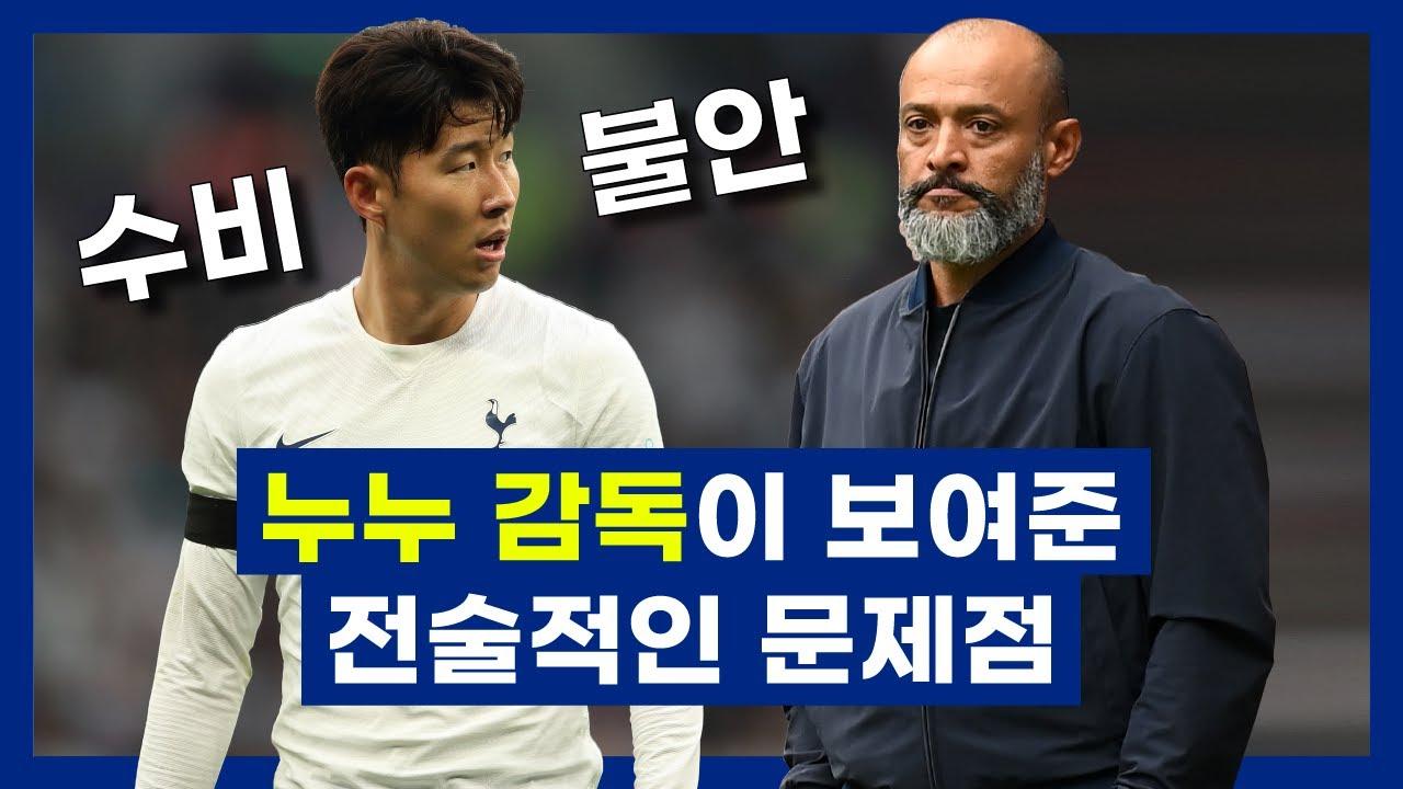 누누 감독의 수비 축구에서 수비가 불안한 이유 (ft. 손흥민을 활용한 역습 축구)