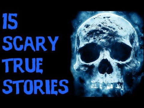 TOP 15 DISTURBING SCARY TRUE Stories (2017)