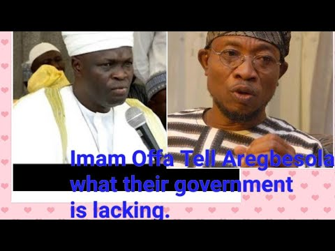 Imam Offa Tell Aregbesola what their government is lacking thumbnail