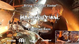 Christian Bass - Heaven Shall Burn   Bring The War Home live @ Zenith München 16/03/18   Drumcam