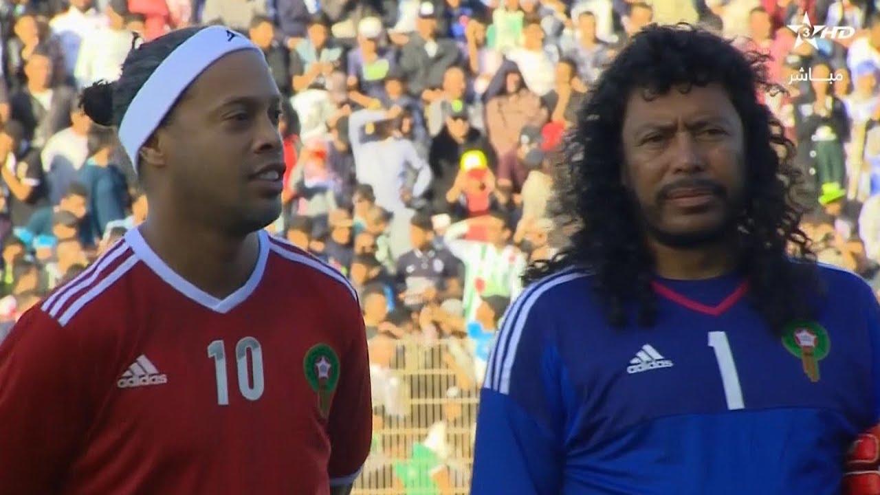ملخص مباراة نجوم العالم أمام نجوم العرب وأفريقيا 6-11-2018