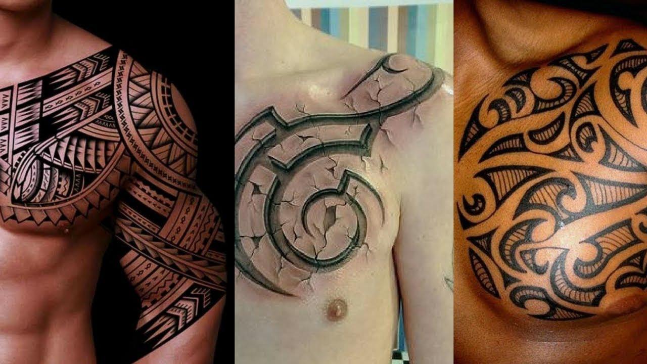 Tribal Tattoo Chest Ideas