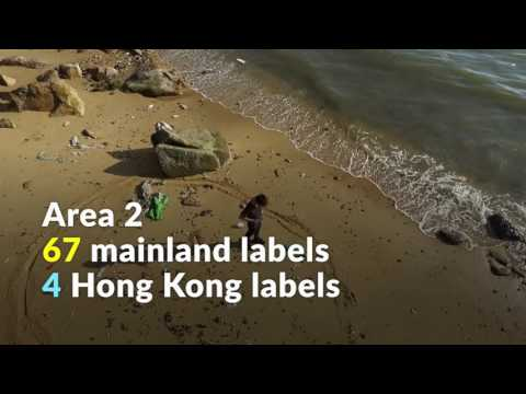 What a waste: Counting Hong Kong's beach trash