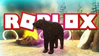 ROBLOX BEAR - CENOZOIC SURVIVAL Wild Animals Lets Play