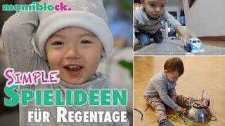 9 einfache Spielideen für Kleinkinder | DIY | mamiblock