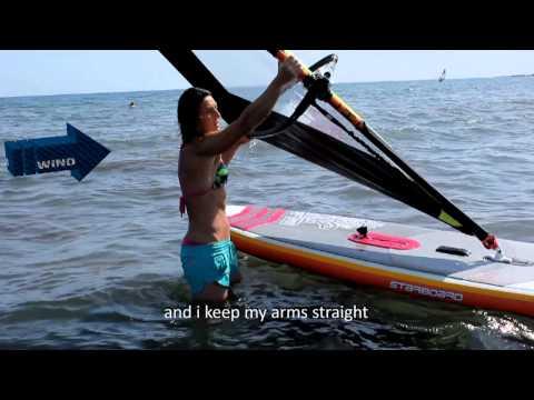 How to do a beach start? The Black Team Academy - Beginner Windsurfing