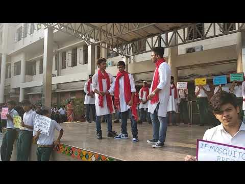 Class assembly by class 11C of Green Fields School