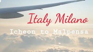 ??밀라노 여행 vlog#1 국제학회 출장. 대한항공 …