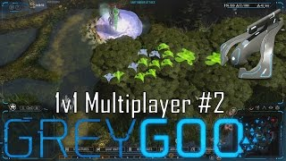 Grey Goo - Multiplayer 1v1 - GREEDY HUMAN #2