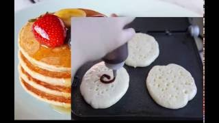 HOW TO MAKE CINNAMON  ROLL PANCAKES COMPLETE Full HD GOOD FOOD RECIPES