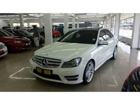 2011 mercedes benz c class c200 cdi amg auto for sale on for Mercedes benz south africa