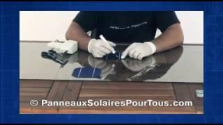 Fabriquer soi-même un panneau solaire photovoltaïque - Partie 1
