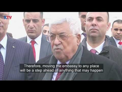 Abbas Meets Jordanian King Over Proposed U.S. Embassy Move
