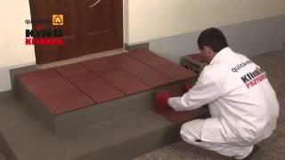 видео Облицовка ступеней плиткой