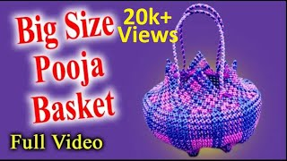 Big Size Pooja Basket || Puja koodai || FULL Video