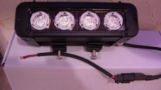 видео светодиодные фары дальнего света купить