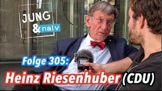 Heinz Riesenhuber (CDU), Alterspräsident des Deutschen Bundestages - Jung & Naiv: Folge 305