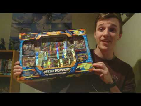 Opening The Best Pokemon Mega Powers Collections Box Ever!! 5 Full Arts One Box??