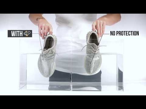 adidas Yeezy 350 Boost Moonrock - With and Without Crep Protect