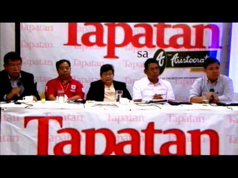 TAPATAN: The Aftermath of Yolanda to the Philippine Economy and the Filipino People