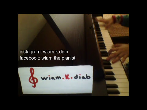 kara sevda anlatamam piano - hob a3ma - حب اعمى - بيانو