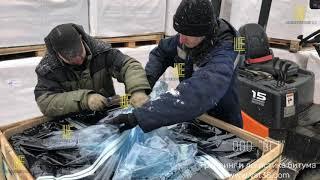 Среднетоннажный контейнер КУББИТ® подготовка к плавлению