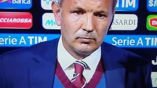 Furibonda lite:  Mihailovic  contro Vialli  a sky Juventus - Torino  1 - 1